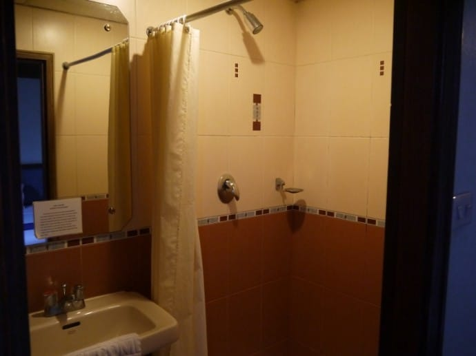 Shower At Silom Avenue Inn, Bangkok