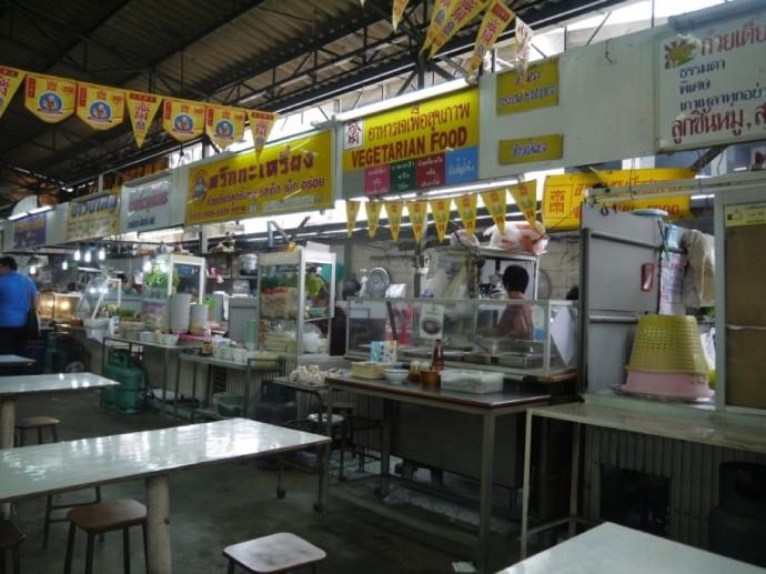 Silom Square Food Court - Vegetarian Food Stall