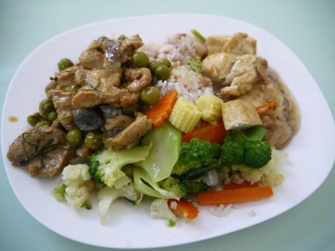 Lunch At Tien Sin, Soi Si Wiang, Silom, Bangkok