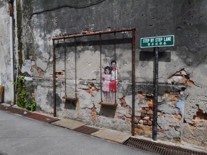 Street Art in George Town, Penang, Malaysia