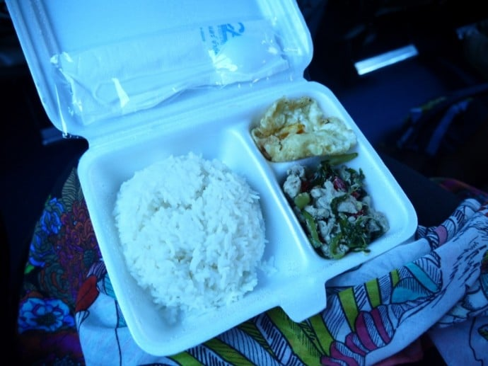 Lunch On The Nakhon Chai Air Bus