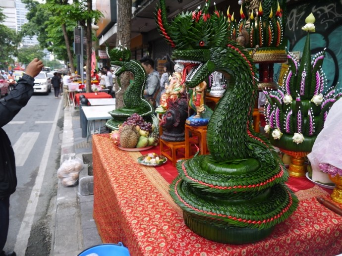 These Snakes Are Hand-Made From Banana Leaves