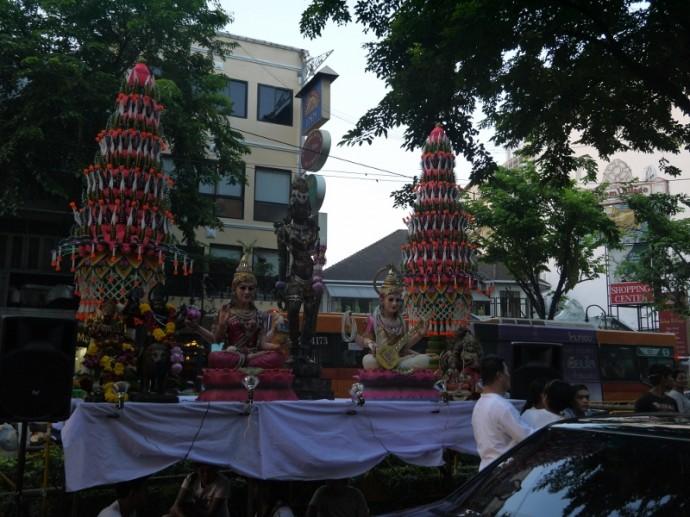 Hindu Shrine On Silom Road, Bangkok
