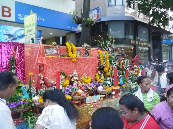 A Very Colorful Silom Road
