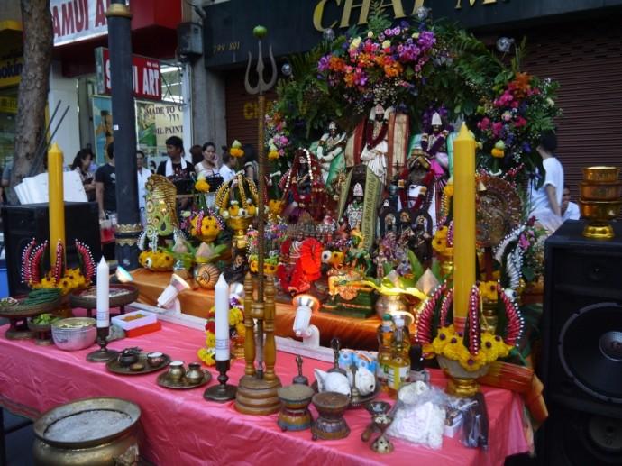 Navaratri Festival Shrine 2013