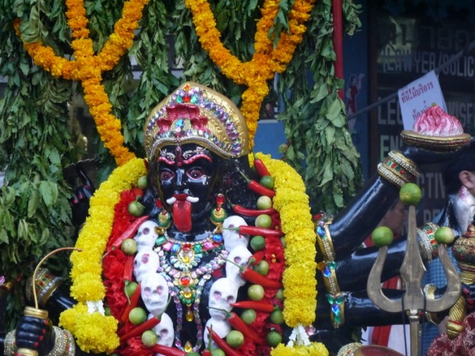Red Tongue Hindu Shrine