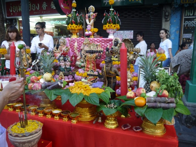 Another Colorful Hindu Shrine