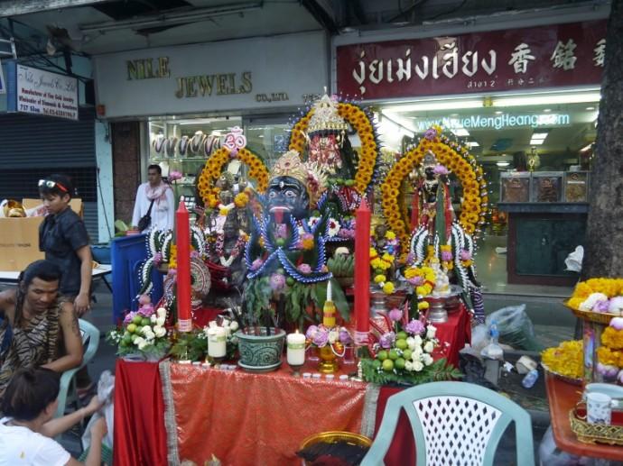 Navaratri 2013 - Silom Road, Bangkok, Thailand