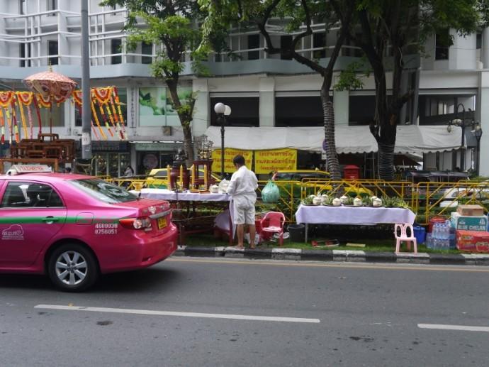Central Reservation On Silom Road