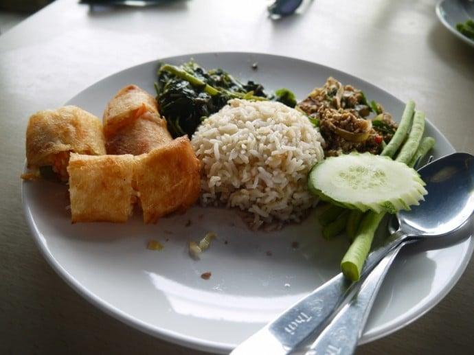 Lunch At Sanchai J Food, Surin