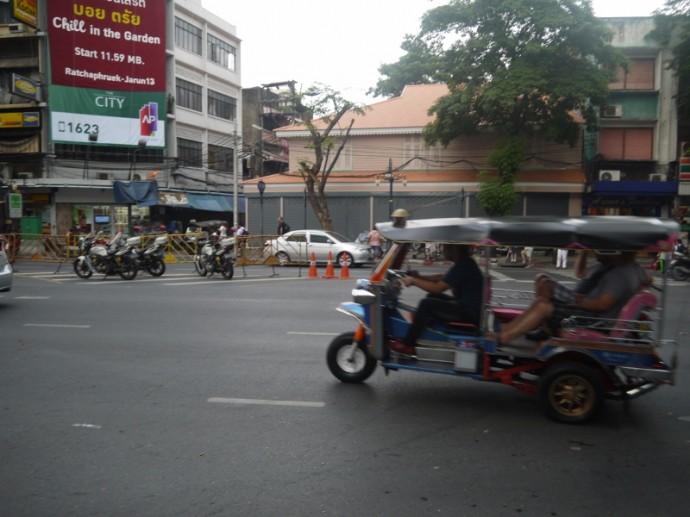 A Tuk Tuk On Silom Road