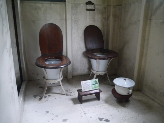Toilets At Main House