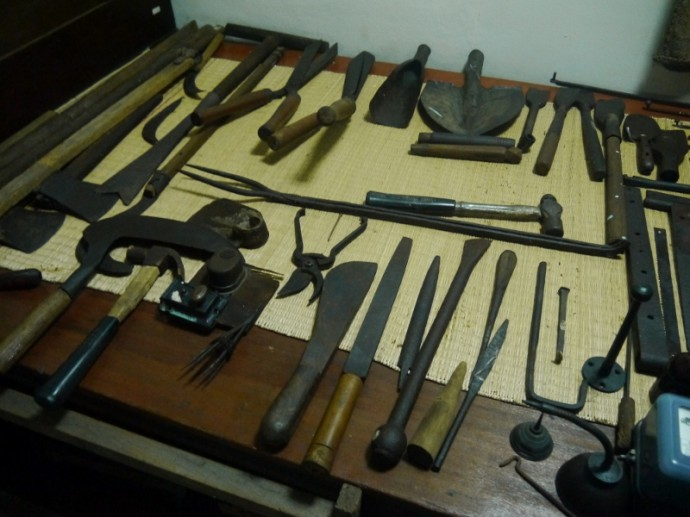 A Variety Of Old Tools
