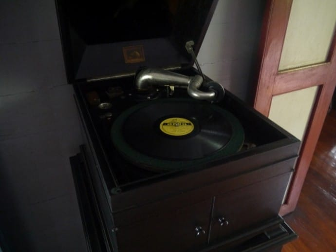 An Old Gramophone In The Main House