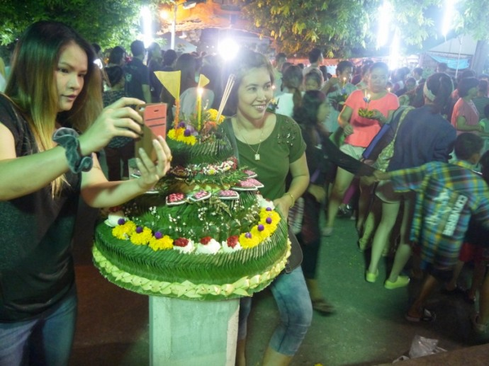 A Very Elaborate Krathong