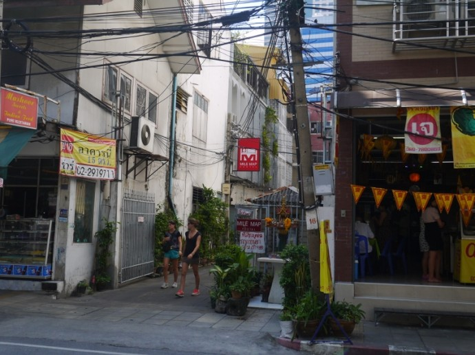 Mile Map Hostel, Pan Road, Silom