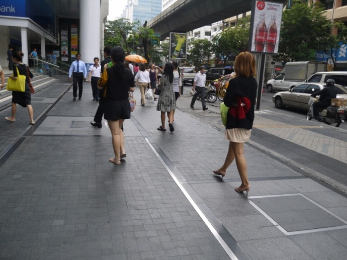 Lunchtime On Silom Road