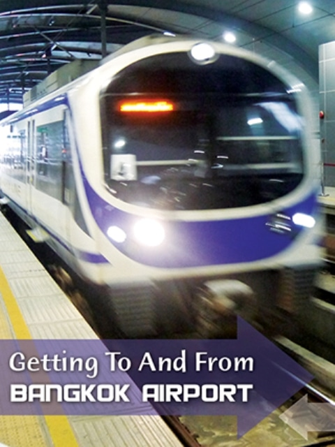 Getting To And From Suvarnabhumi Bangkok Airport By Train