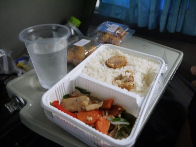 Food On The Bangkok To Chiang Mai Train