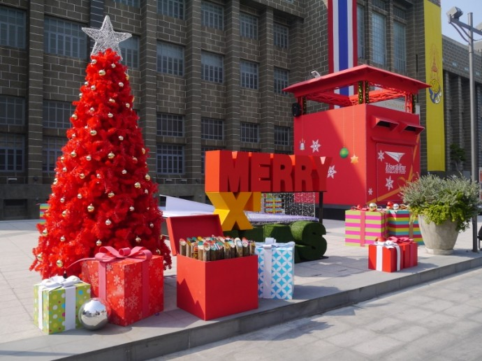 Christmas At The Old Bangrak Post Office