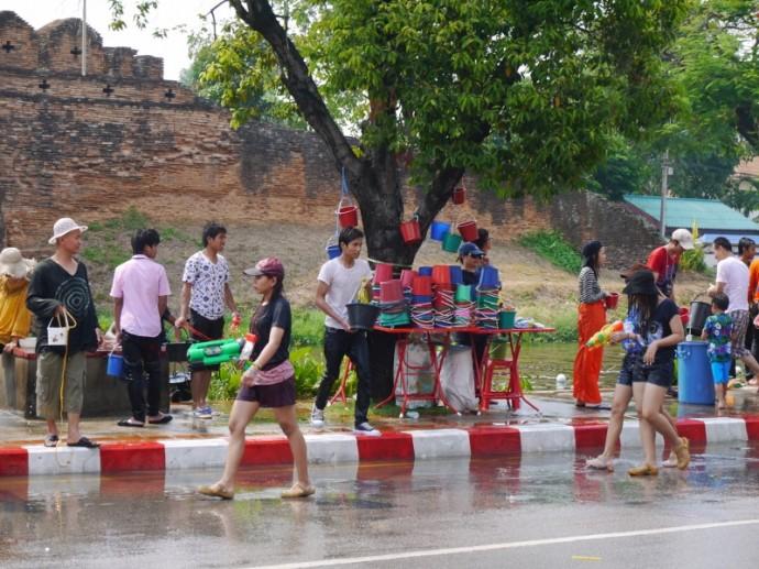 Songkran Festival In Chiang Mai, Thailand