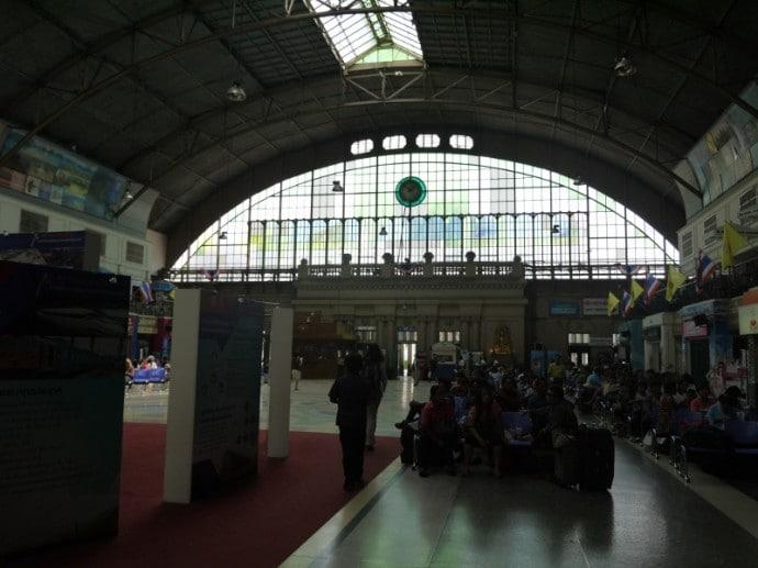 Inside Bangkok's Hua Lamphong Train Station