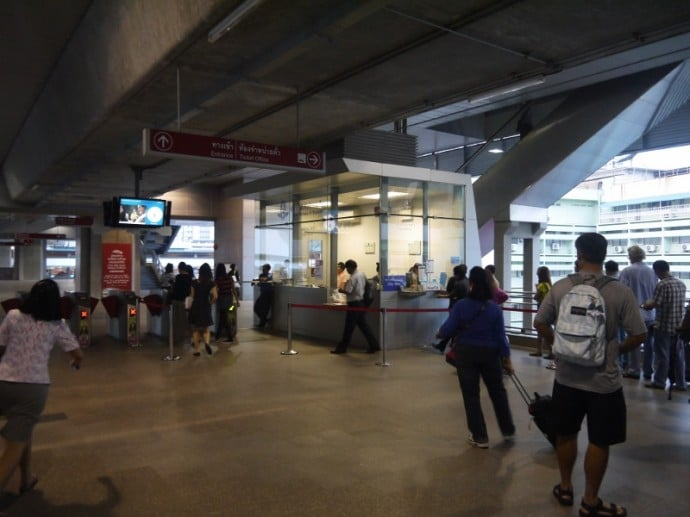 Phaya Thai Airport Link Ticket Office