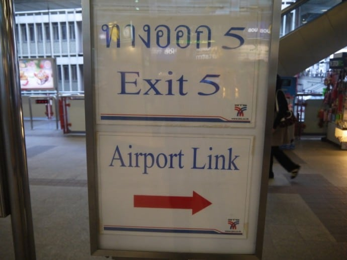 Take Exit 5 From Phaya Thai BTS Station