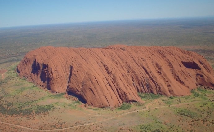 Uluru By Helicopter