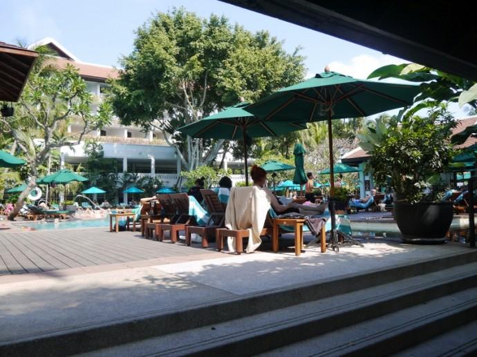 Pool Area At Anantara Bangkok Riverside Resort & Spa
