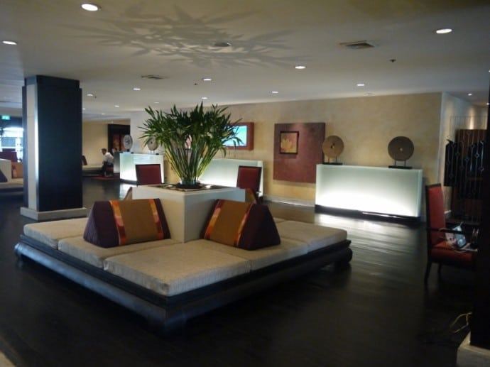 Lobby At Anantara Bangkok Riverside Resort & Spa