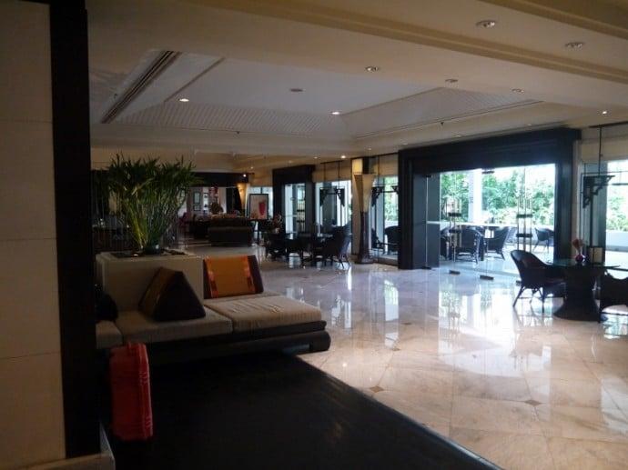 Indoor Seating At Anantara Bangkok Riverside Resort & Spa