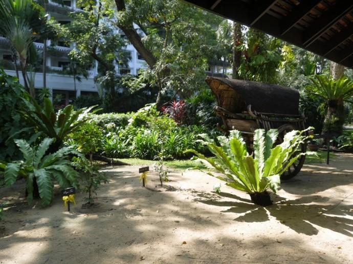 Beautiful Grounds At Anantara Bangkok Riverside Resort & Spa