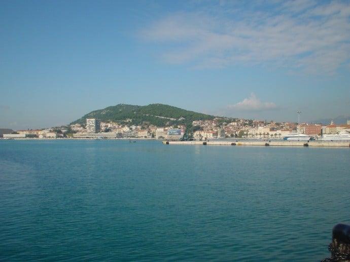 Ferry Leaving Split For Supetar