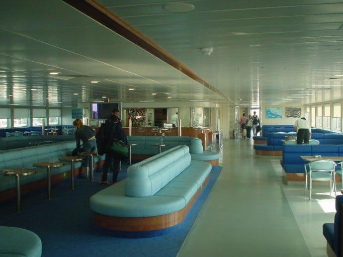 Inside A Modern Jadrolinija Ferry