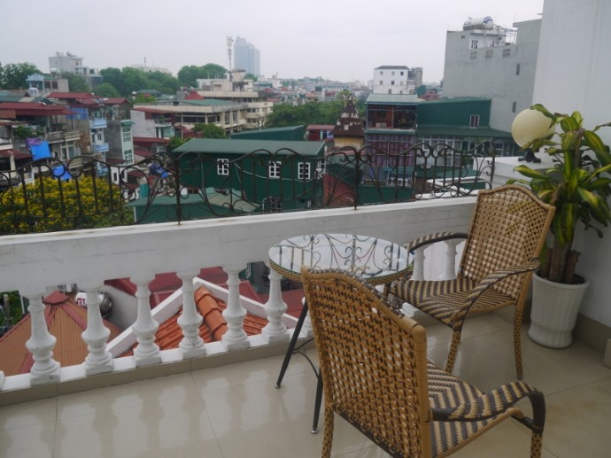 View From Balcony At Landmark Hotel, Hanoi, Vietnam
