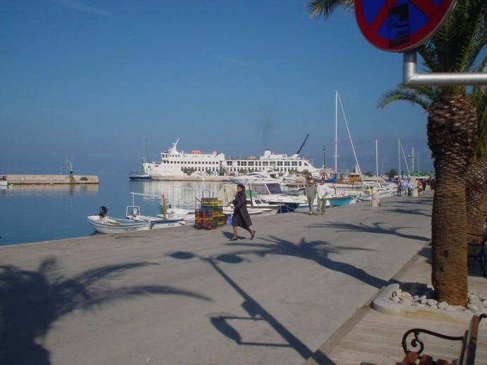 Split To Supetar Ferry Arriving in Supetar