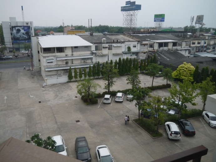 View Of Car Park From 5th Floor