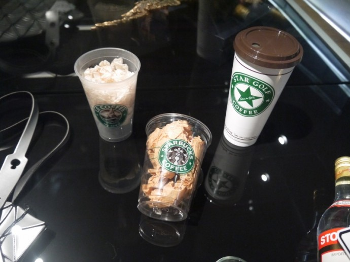 Genuine And Fake Starbucks Cups