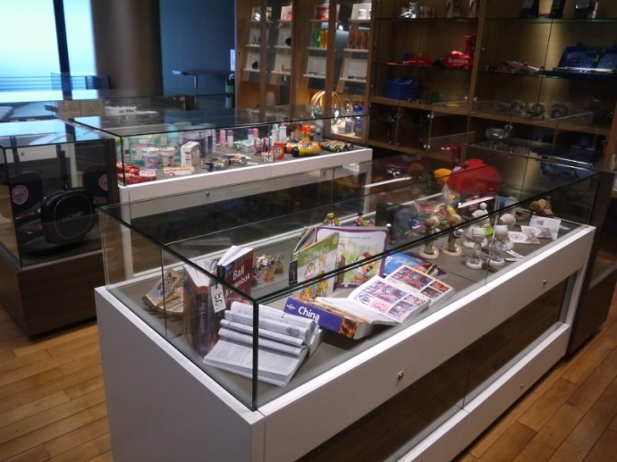 Array Of Goods At Museum Of Counterfeit Goods
