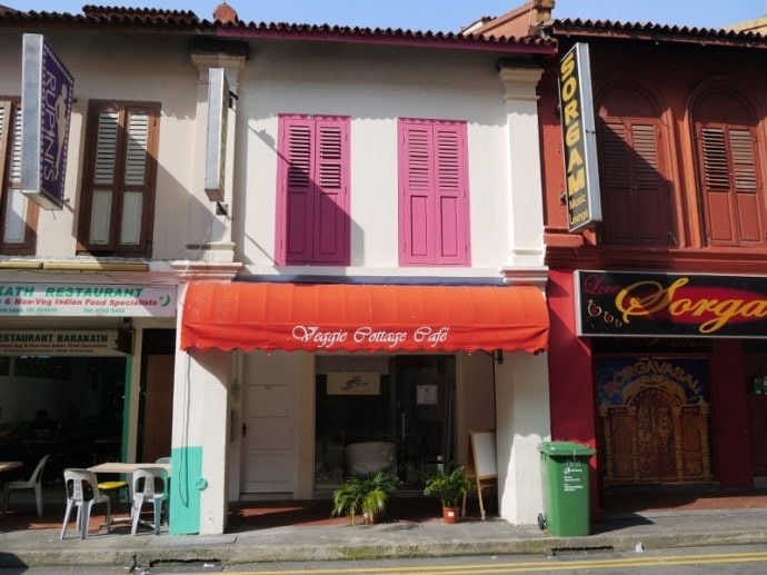 Veggie Cottage Cafe, Little India, Singapore
