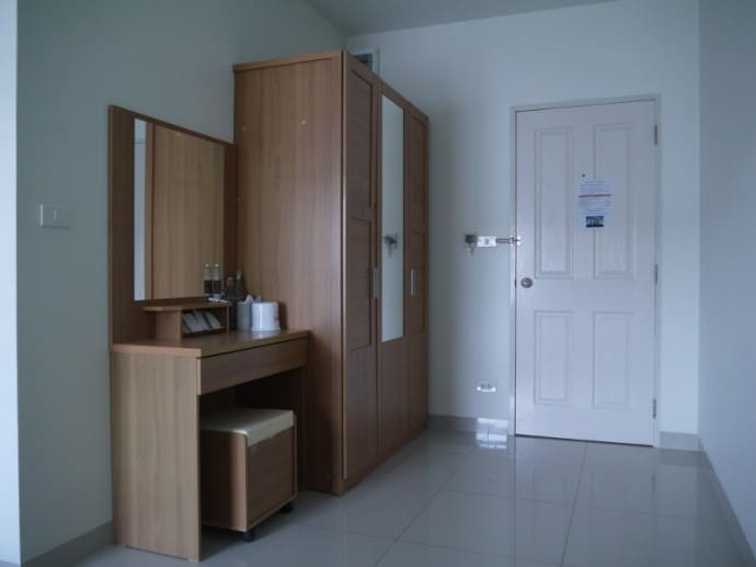 Wardrobe & Dressing Table At Sawairiang Place Hotel, Korat
