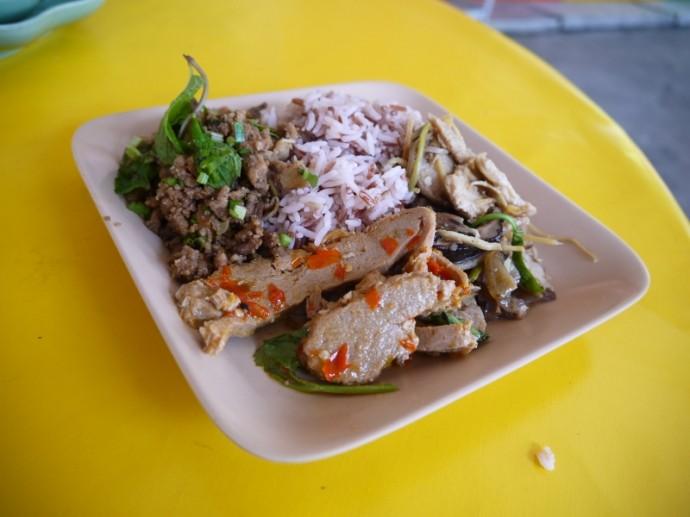 Lunch At Seven Steps Vegetarian, Nakhon Ratchasima (Korat)
