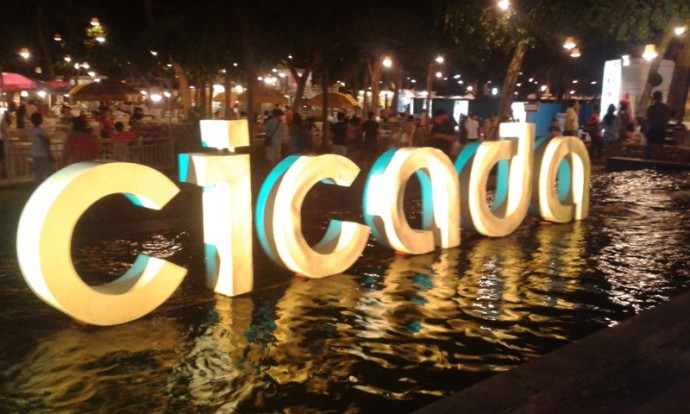 Cicada Night Market, Hua Hin
