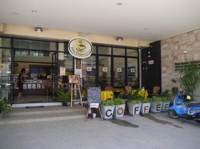 Hot Cappuccino, Hua Hin