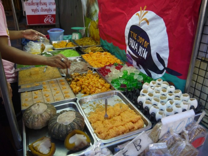 Thai Desserts At Hua Hin Market