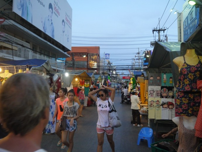 Early Evening At Hua Hin Market