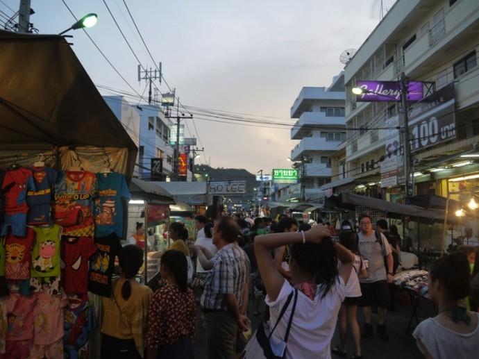 A Busy Hua Hin Market