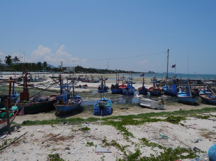 Hua Hin Fishing Boats