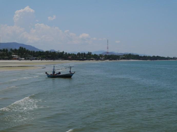 Boat At Hua Hin